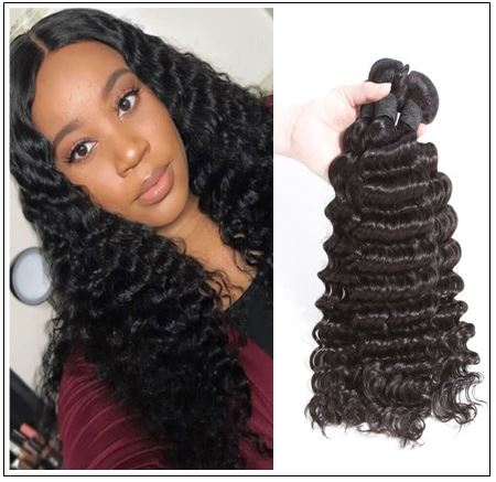 Indian Virgin Deep Wave Hair Bundle img 1-min