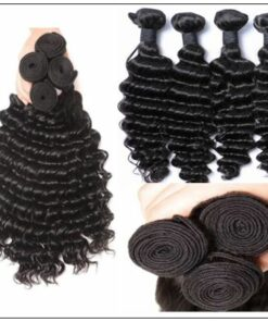 Indian Virgin Deep Wave Hair Bundle img 4-min