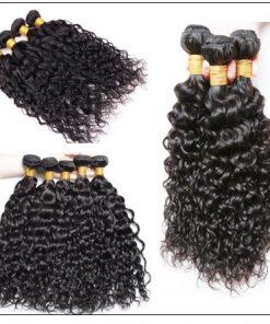 Indian Water Wave Human Hair Bundle- 100% Virgin img 2-min