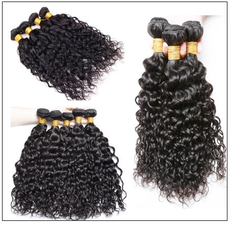 Indian Water Wave Human Hair Bundle- 100% Virgin img 2-min