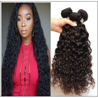Indian Water Wave Human Hair Bundle- 100% Virgin img-min