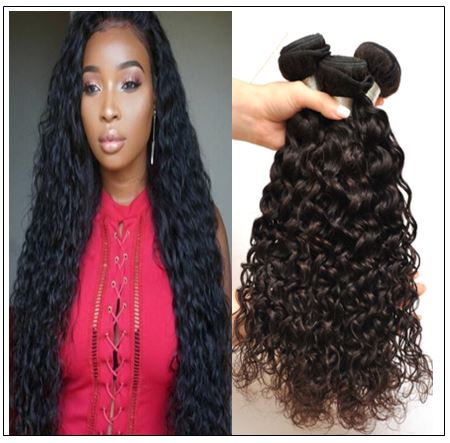 Indian Water Wave Human Hair Bundle- 100% Virgin img-min
