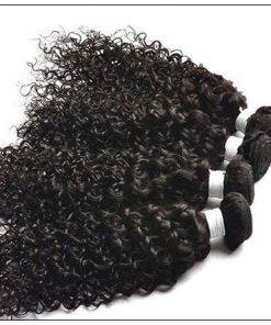 Jerry Curly Human Hair Weave-100% Raw and virgin img 3-min
