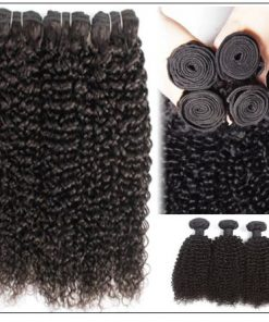 Jerry Curly Raw Hair Weave img 4-min