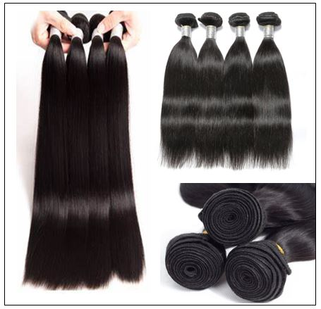 Malaysian Straight Remy Human Hair Weave-100% Virgin img 2-min