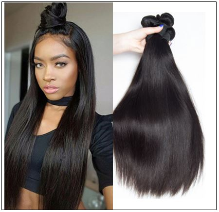 Malaysian Straight Remy Human Hair Weave-100% Virgin img-min