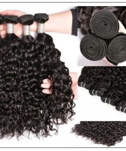 Malaysian Unprocessed Water Wave Weave-100% Virgin Hair img 3-min