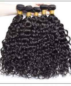 Malaysian Unprocessed Water Wave Weave-100% Virgin Hair img 4-min