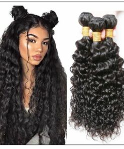 Malaysian Unprocessed Water Wave Weave-100% Virgin Hair img-min