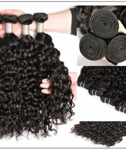 Malaysian Water Wave -100% Human & Cheap Hair Bundle img 2-min