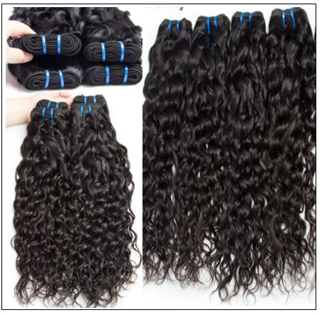 Malaysian Water Wave -100% Human & Cheap Hair Bundle img 3-min