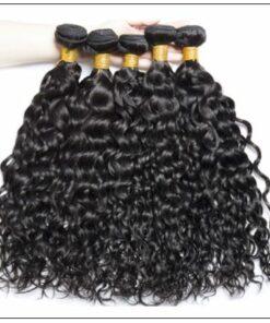 Malaysian Water Wave -100% Human & Cheap Hair Bundle img 4-min