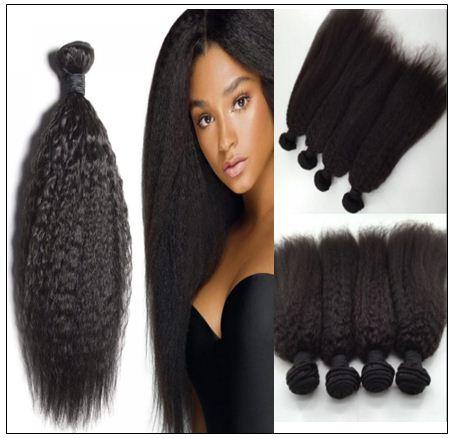 Malaysian kinky straight hair img 4-min