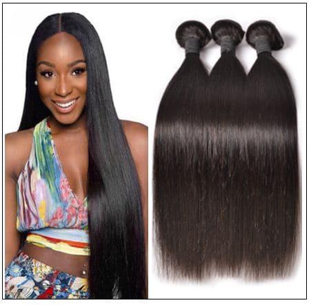 Malaysian straight hair bundle img