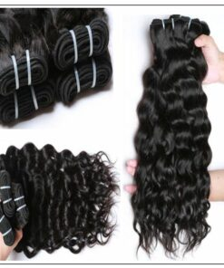 Natural Wave Hair Weave-100% Virgin img 2-min