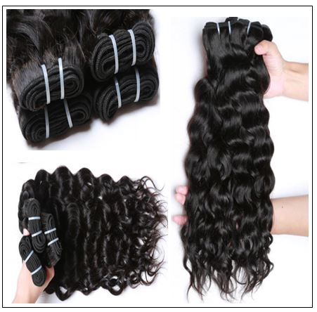 Natural Wave Hair Weave-100% Virgin img 2-min