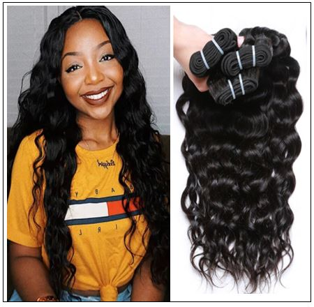 Natural Wave Hair Weave-100% Virgin img 3-min