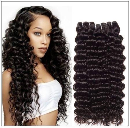 Peruvian Deep Wave Hair Weft img 4-min