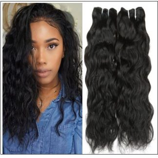 Peruvian Human Hair Bundles Natural Wave img-min