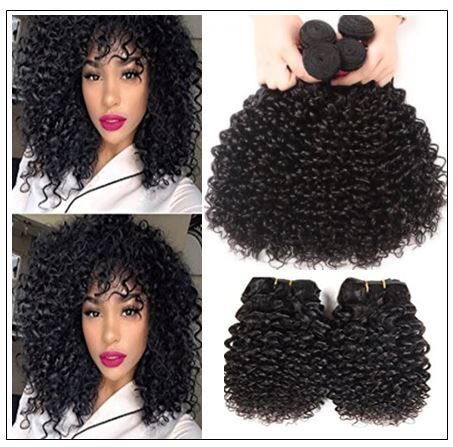 Peruvian Jerry Curly Hair Weave img 3-min