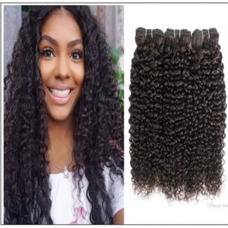 Peruvian Jerry Curly Hair Weave img-min