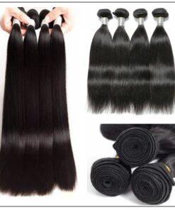 Peruvian Straight Remy Hair Weave-100% Human Hair img 3-min