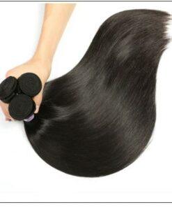 Peruvian Straight Remy Hair Weave-100% Human Hair img 4-min