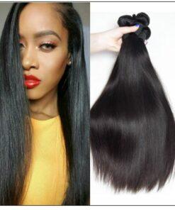 Peruvian Straight Remy Hair Weave-100% Human Hair img-min