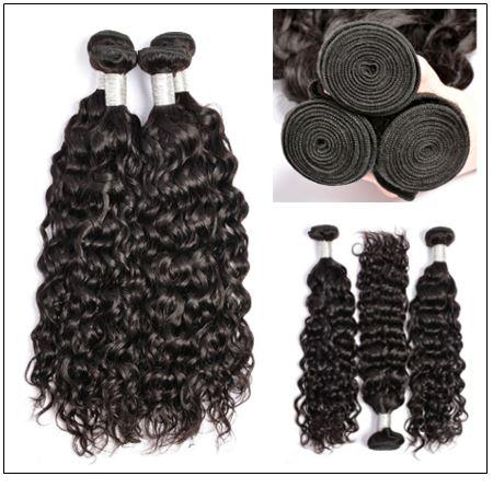 Peruvian Water Wave Hair Weaving-100% Human Hair img 2-min
