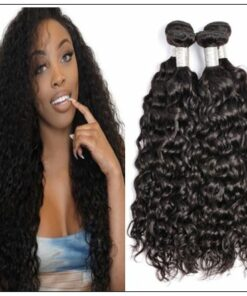 Peruvian Water Wave Hair Weaving-100% Human Hair img-min