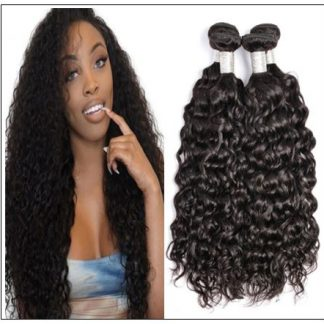 Peruvian Water Wave Hair Weaving-100% Human Hair img-min