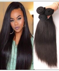Silky straight hair weave img 1-min