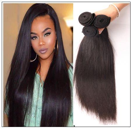 Silky straight hair weave img 1-min