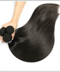 Straight Indian Human Hair Weave img 2-min