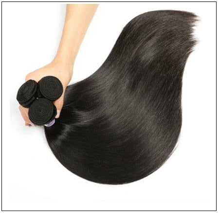 Straight Indian Human Hair Weave img 2-min