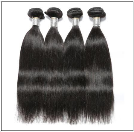 Straight Indian Human Hair Weave img 3-min