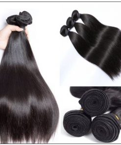 Straight Indian Human Hair Weave img 4-min