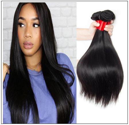 Straight Indian Human Hair Weave img-min
