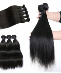 Straight Raw Human Hair Bundles-100% Virgin img 2-min