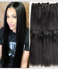 Straight Raw Human Hair Bundles-100% Virgin img-min