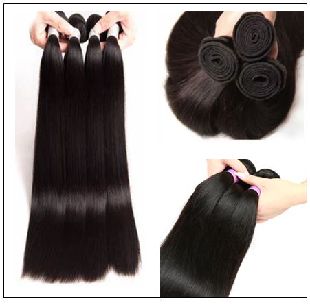 Straight Remy Hair Weave-100% Human Hair img 2-min