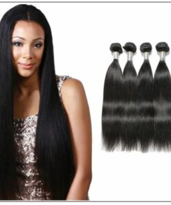 Straight Remy Hair Weave-100% Human Hair img-min