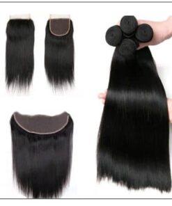 Straight hair closure img 3