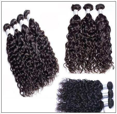 Unprocessed Virgin Malaysian Hair Natural Wave Weave img 2-min