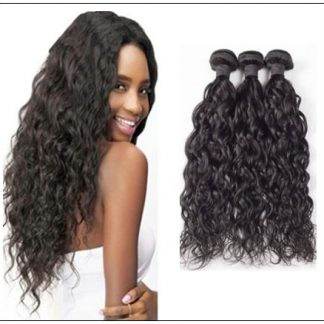 Unprocessed Virgin Malaysian Hair Natural Wave Weave img 3-min