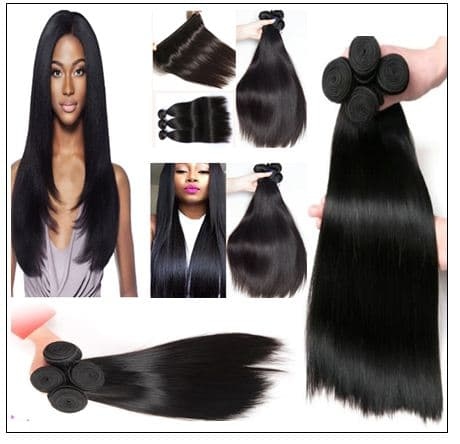 Virgin straight hair img 2