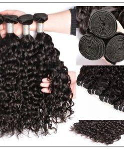 Water Wave Hair Bundles-100% Unprocessed &Virgin img 2-min