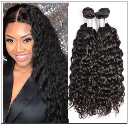 Water Wave Hair Bundles-100% Unprocessed &Virgin img-min
