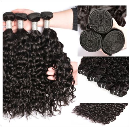Indian Remy Hair Wet and Wavy img 2