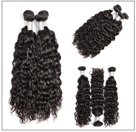 Indian Remy Hair Wet and Wavy img 4-min